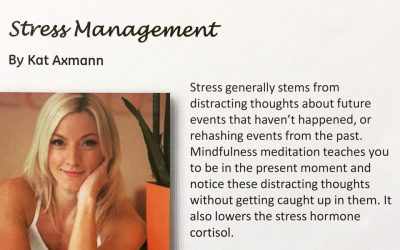 Corporate Wellness Seminars- Stress management seminar
